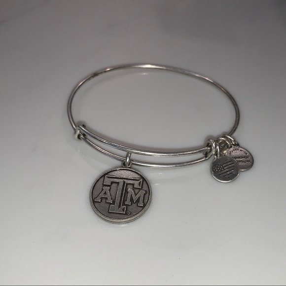 Alex and Ani Jewelry - Alex and Ani Texas A&M Logo Charm Bracelet
